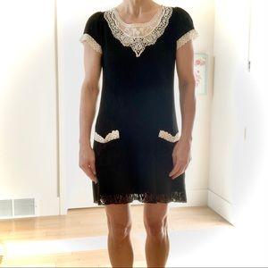 502 STYLE Crocheted Mini Dress